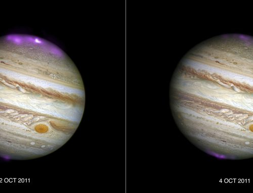 Solar storm causes surge in Jupiter's 'Northern Lights'