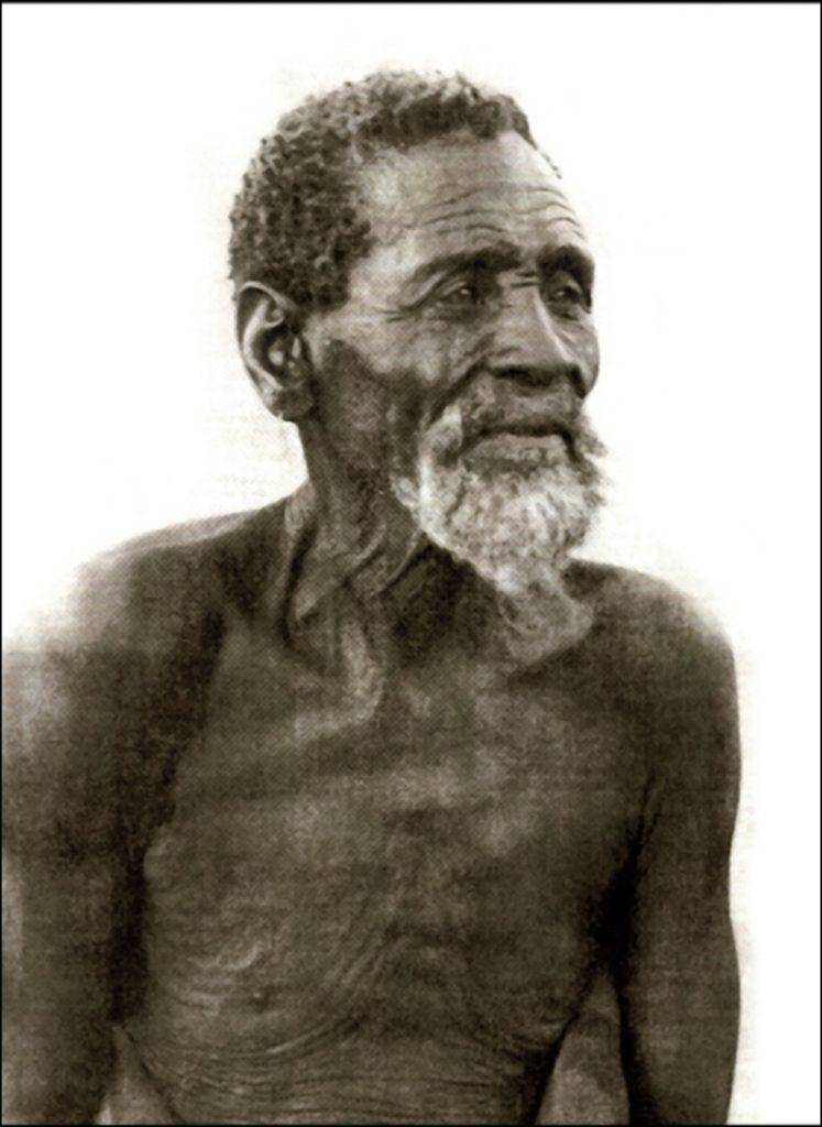 Chief Gaborone of the Tlokwa