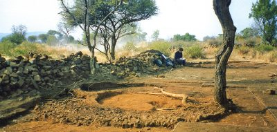 Excavated household at Marothodi